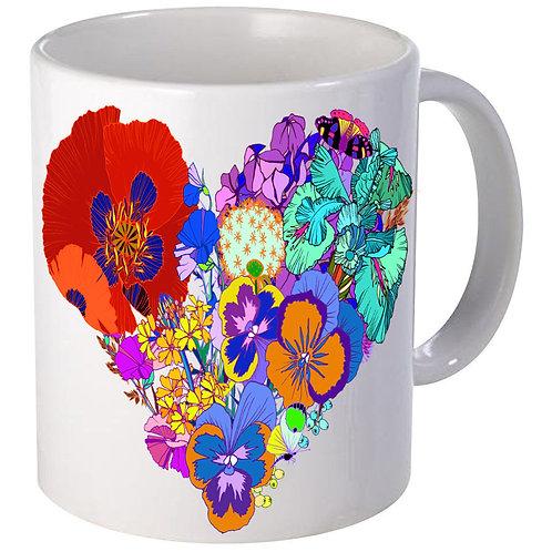 Flower Hart mug 2