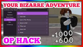 Your Bizarre Adventure Hack