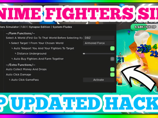 ANIME FIGHTERS SIM UPDATED HACK