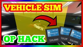 VEHICLE SIM HACK 60K MONEY PER MINUTE!!