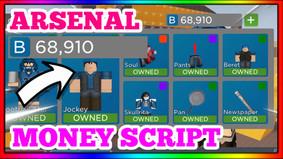 ARSENAL OP INF MONEY SCRIPT