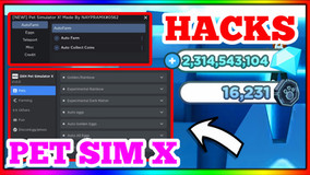 NEW PET SIM X HACKS OP