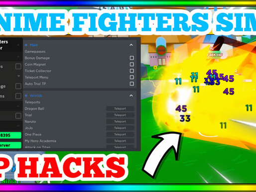 Anime Fighters Simulator Hack