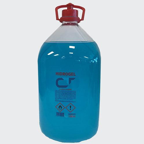 Gel hidroalcohólico superficies y manos 5L