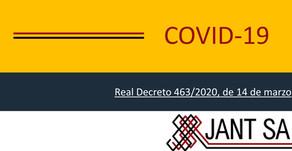 Comunicado de Jant SA en relación al COVID-19