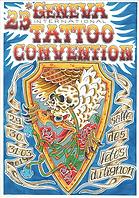 Je serai présent à la convention internationale de tatouage de Genève du 29 au 31 mars 2019