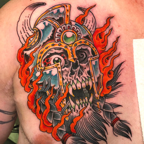 Odin Conan skull
