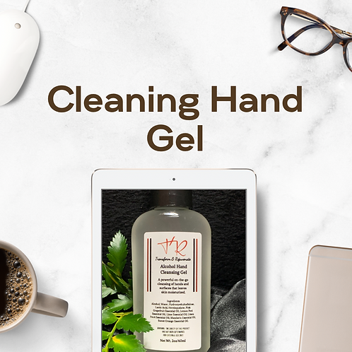 Transform & Rejuvenate Alcohol Hand Cleansing Gel