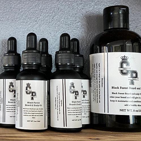 8oz Black Forest Beard & Body Oil