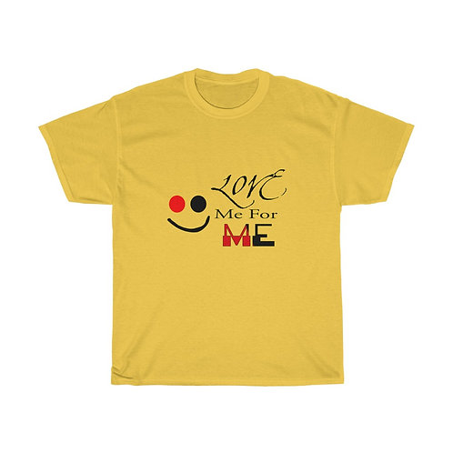 Love Me For Me Unisex Heavy Cotton Tee