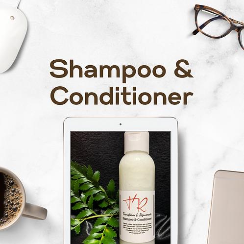 Transform & Rejuvenate  Shampoo & Conditioner