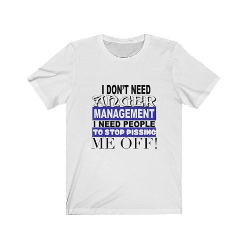 Anger Management Bella+Canvas 3001 Unisex Jersey Short Sleeve Tee