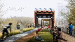 Great Northern Greenway bridge concept