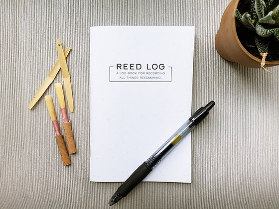 Oboe Reed Log