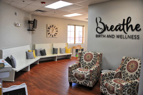 Breathe Birth and Wellness Lobby