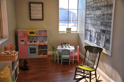 Breathe Birth and Wellness Kids Play area