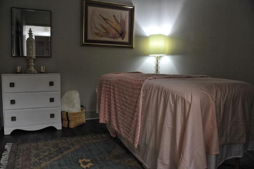 Breathe Birth and Wellness Massage Room
