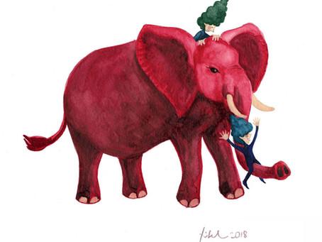 Hugging Baobabs and Elephants