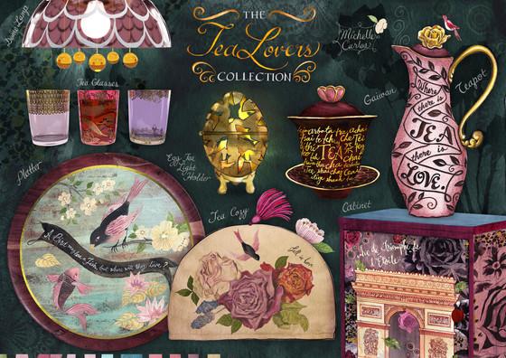 Tea Lovers Home Décor Collection