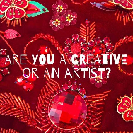 The Creative vs the Artist