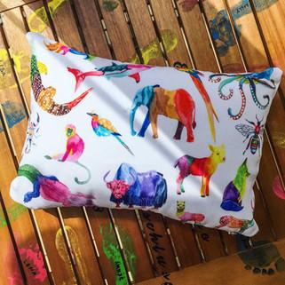 Technicolor Animal Kingdom (Pillow)