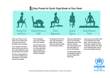 Yoga Break at your desk