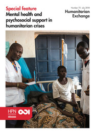 MHPSS in Humanitarian Crisis