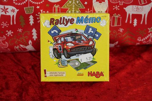 Jeu - Rallye Mémo