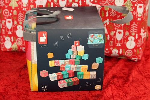 Kubix lettres et chiffres 40 cubes