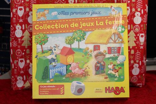 Mes 1ers jeux - Collection de jeux La ferme
