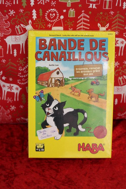 Jeu - Bande de Canaillous
