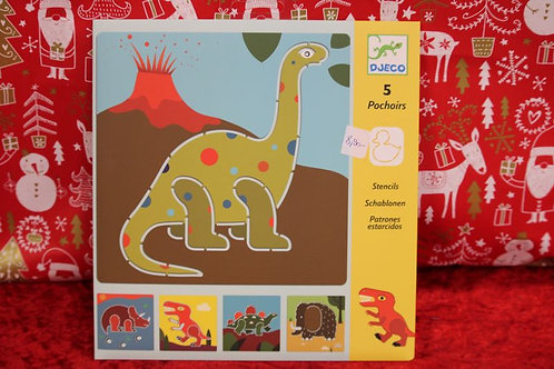 Pochoirs Dinosaures