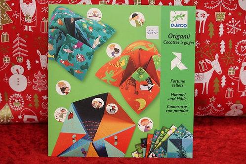Origami Cocotes à gages Nature