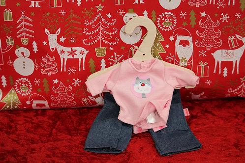 vêtement de poupée - Jeans Tee-shirt