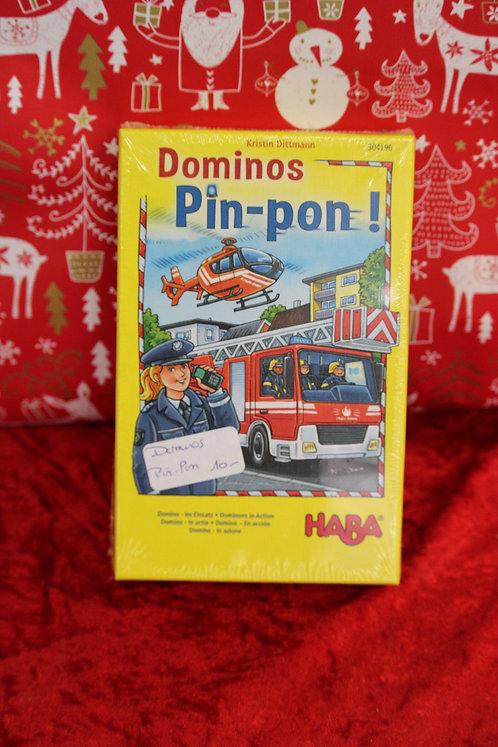 Jeu - Domino Pin-Pon !