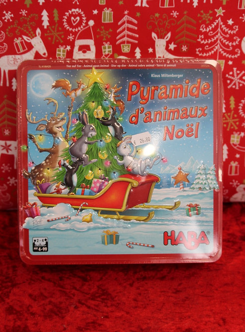 Jeu - Pyramides d'animaux Noël