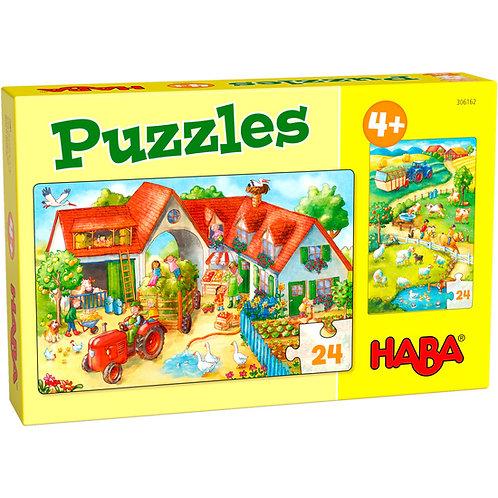 Puzzles Ferme