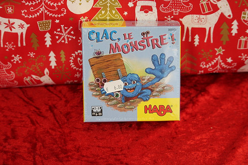 Jeu - Clac, le Monstre !
