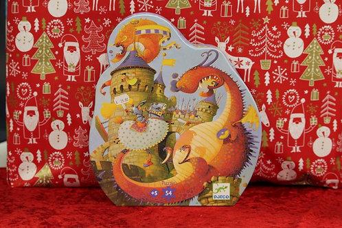 Puzzle 54 pcs Vaillant et le Dragon