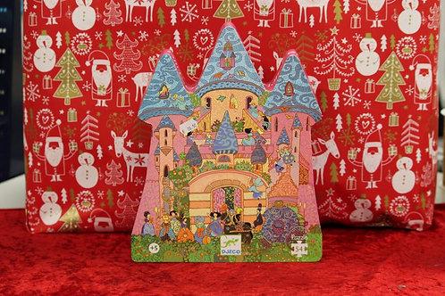 Puzzle 54 pcs château féérique