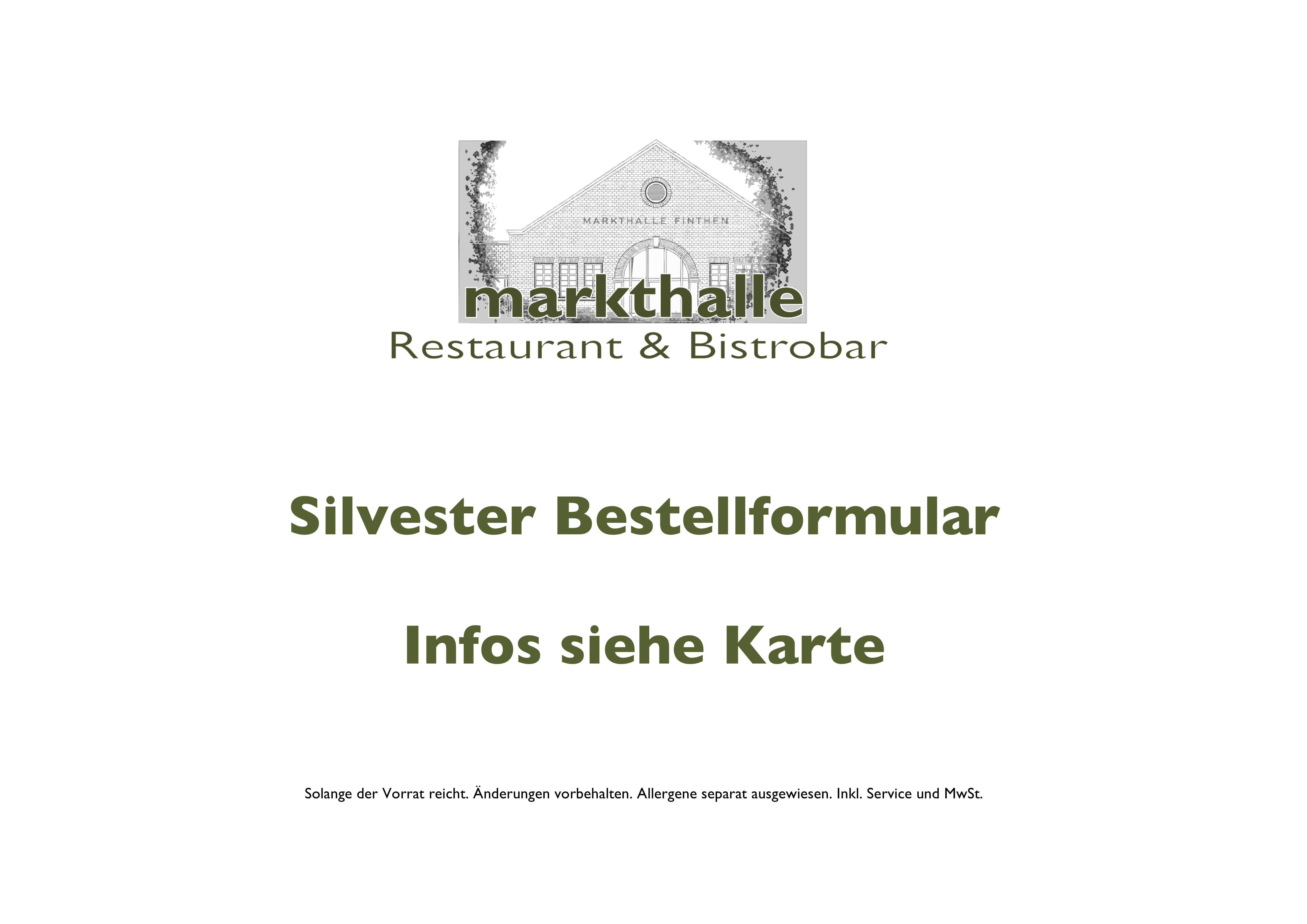 Deckblatt Silvester