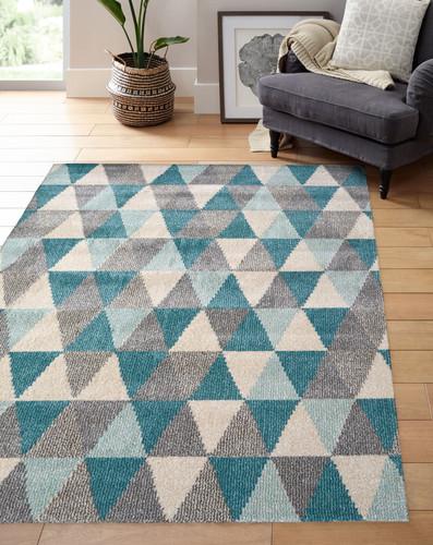 Chateau Modern Wool-look rug