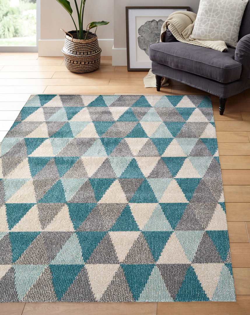 Chateau Modern Wool-look rug