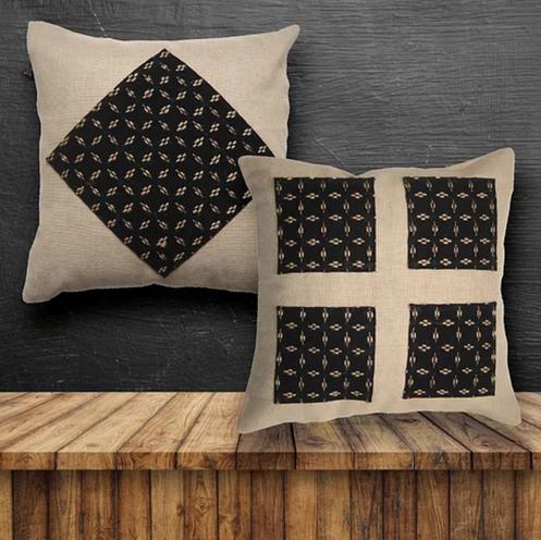 HeyJute Home Accessories Jute Cushion Covers Khaki