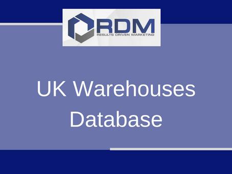 UK Warehouses Database