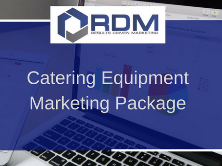 Catering Equipment Marketing Package