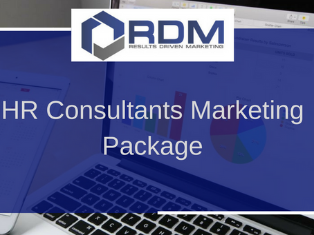 HR Consultants Marketing Package