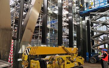 Scaffold and Scissor Lift project 111 Eagle St Brisbane