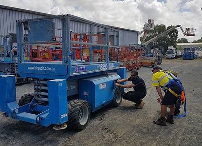EWP Machine Servicing