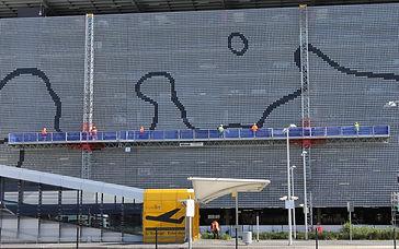 Mast Climber projct Brisbane Domestic Airport